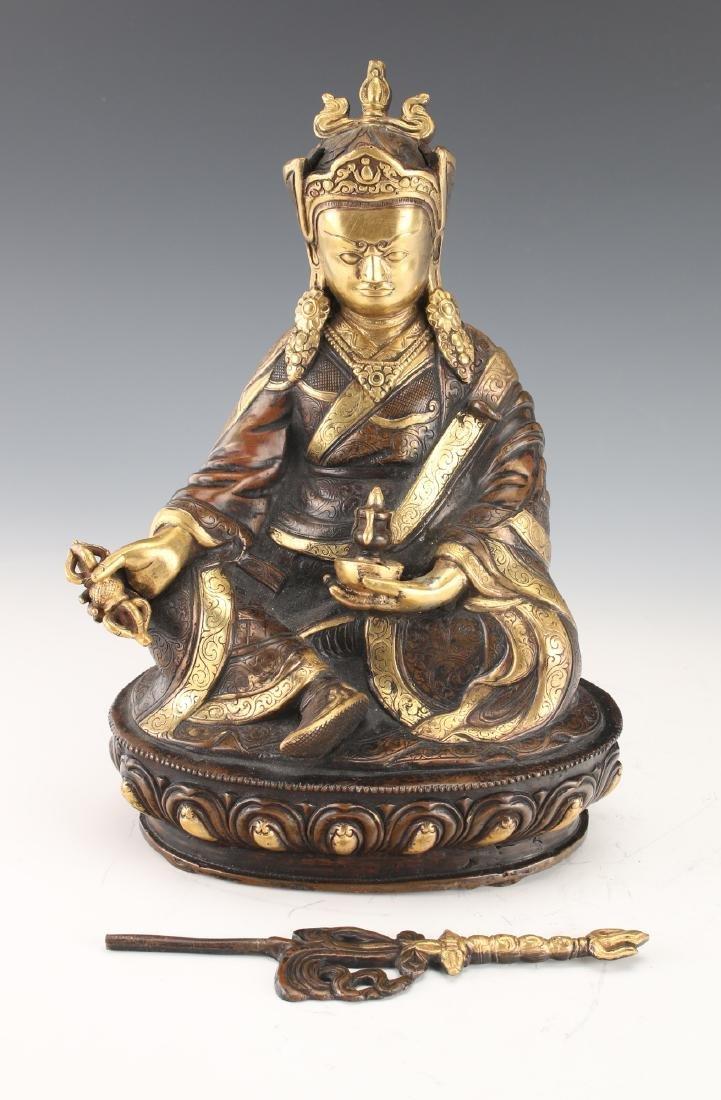 BUDDHA WITH STAFF - 3