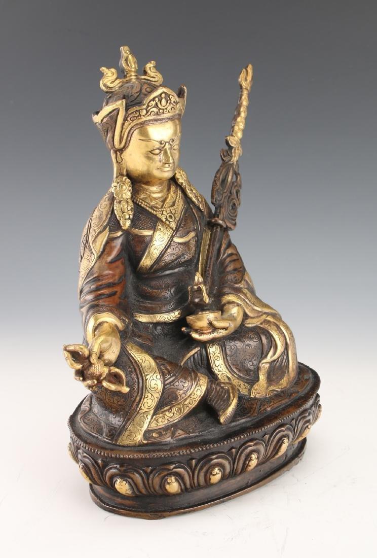 BUDDHA WITH STAFF - 4