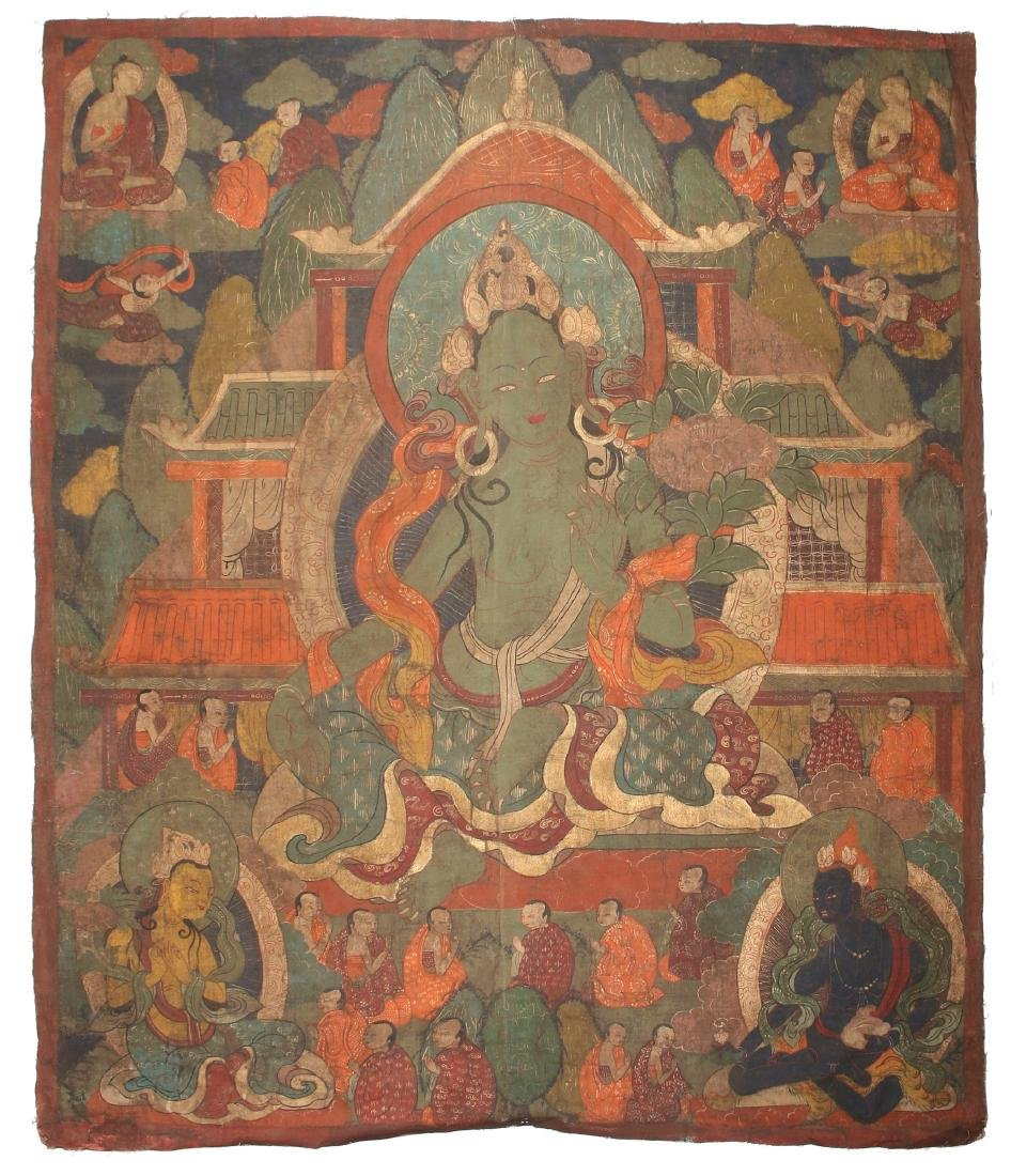 THANGKA OF TARA