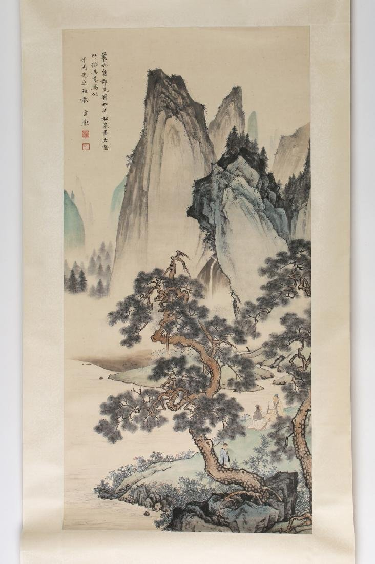 MOUNTAIN LANDSCAPE SCROLL - 2