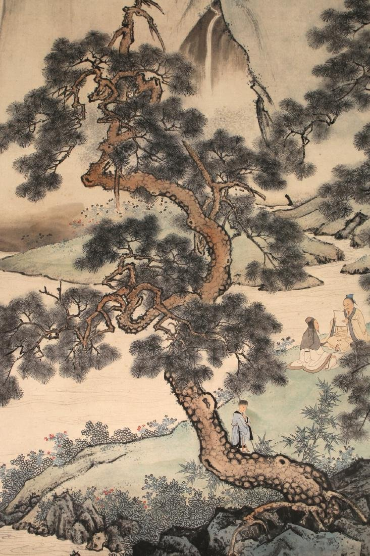 MOUNTAIN LANDSCAPE SCROLL - 4