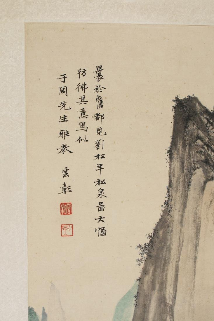 MOUNTAIN LANDSCAPE SCROLL - 5