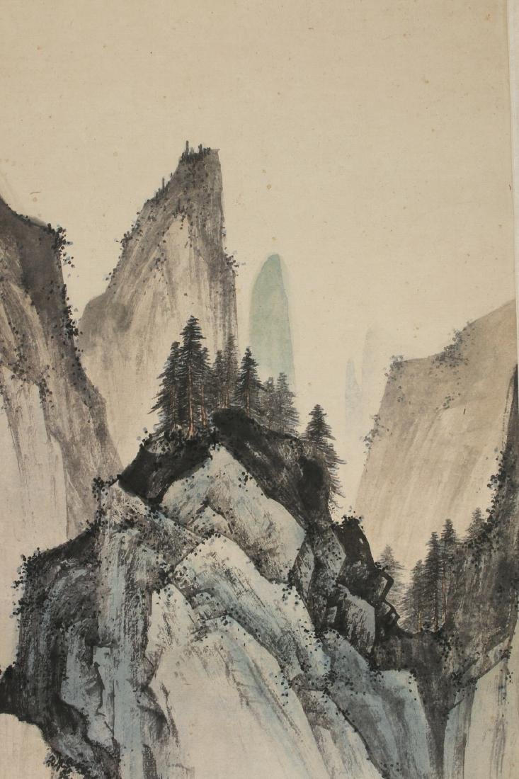 MOUNTAIN LANDSCAPE SCROLL - 6