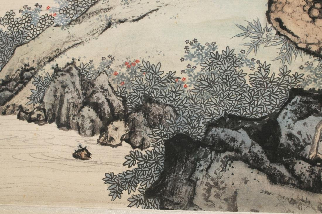 MOUNTAIN LANDSCAPE SCROLL - 7