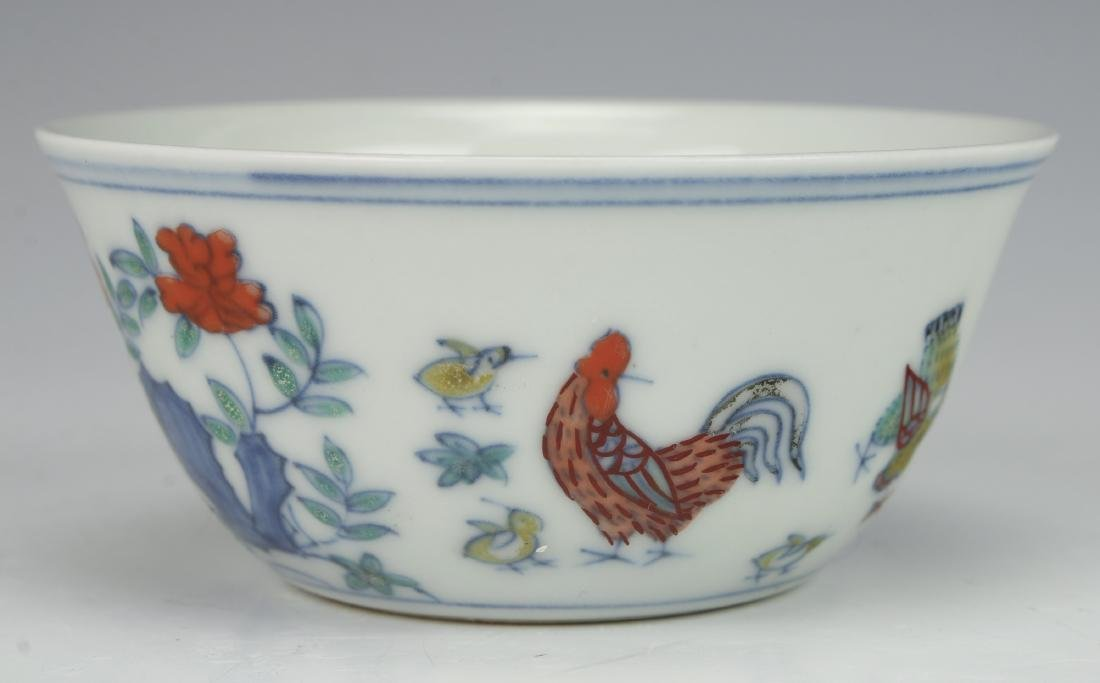 CHINESE ROOSTER TEACUP - 3