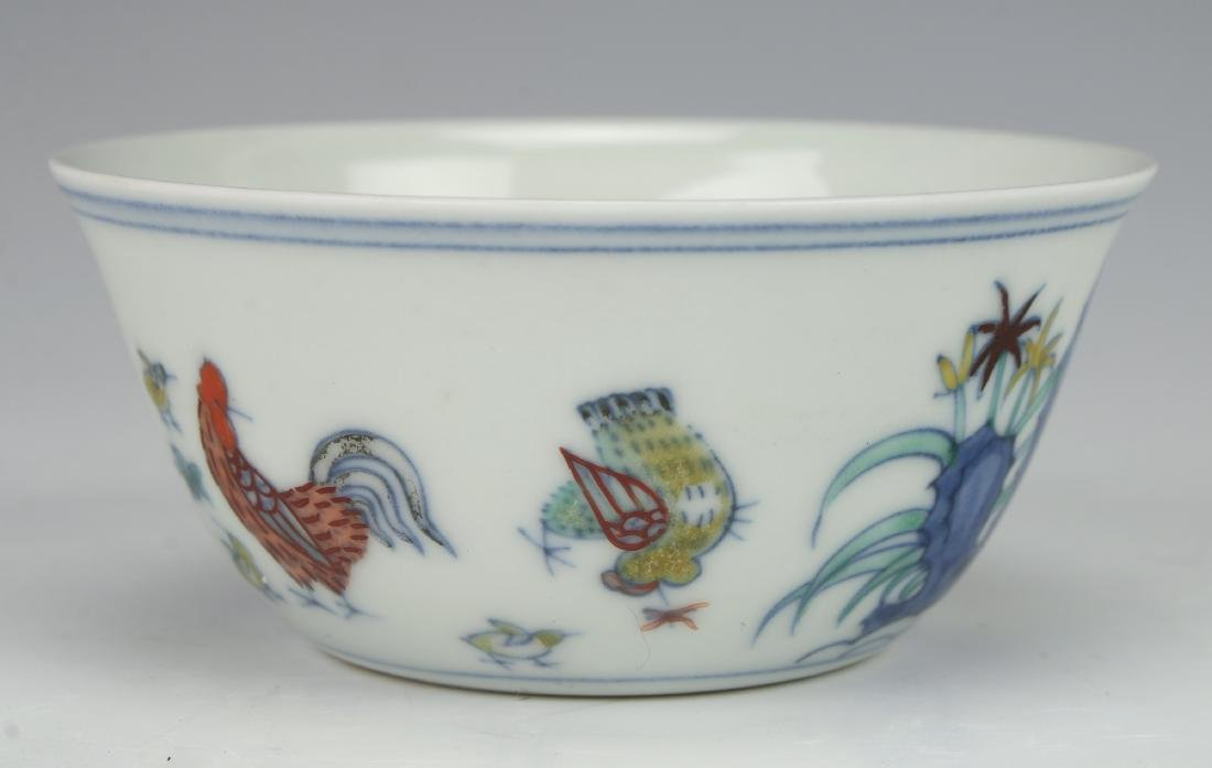 CHINESE ROOSTER TEACUP - 4