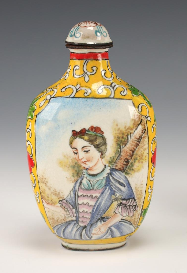 FOUR CHINESE SNUFF BOTTLES - 3