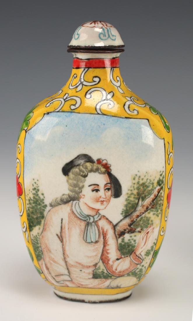 FOUR CHINESE SNUFF BOTTLES - 4