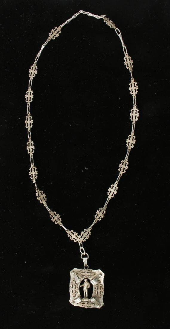 ITALIAN SILVER NECKLACE - 2