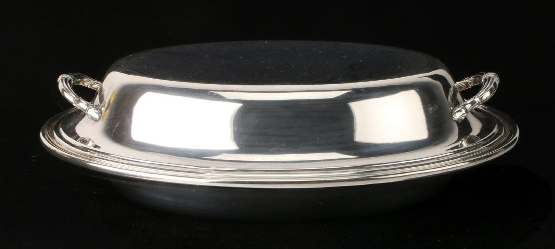 GORHAM SILVER VEGETABLE DISH
