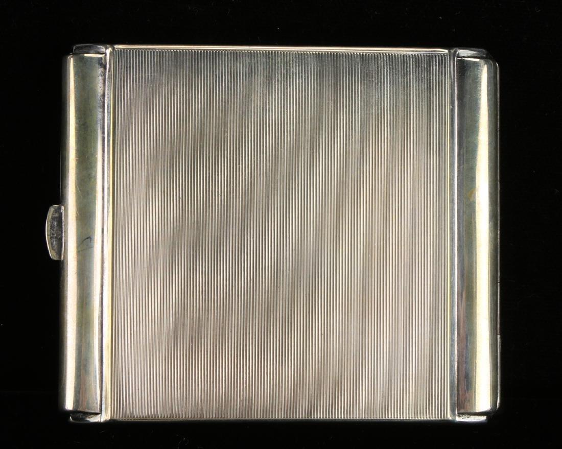 ART DECO STERLING CIGARETTE CASE BY ROBERT KRAFT - 2