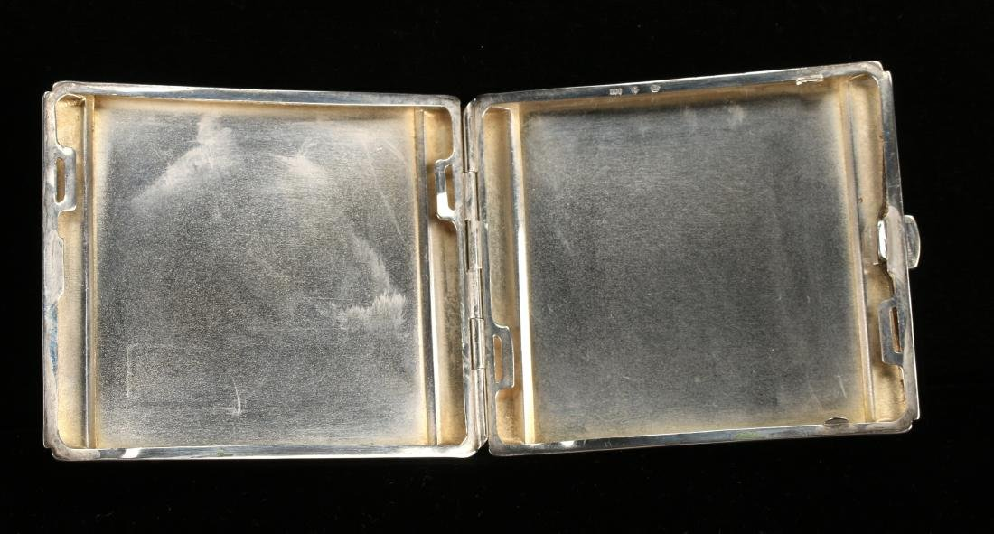 ART DECO STERLING CIGARETTE CASE BY ROBERT KRAFT - 5
