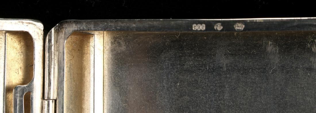 ART DECO STERLING CIGARETTE CASE BY ROBERT KRAFT - 6