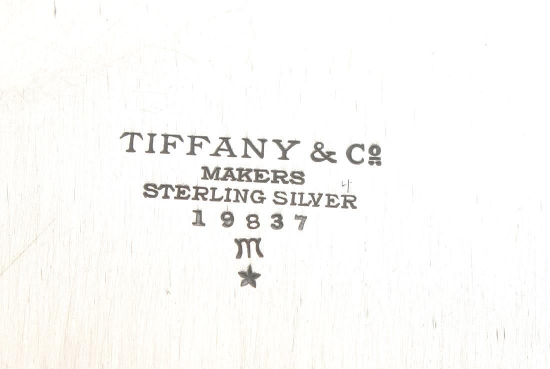SILVER TIFFANY CENTER PIECE BOWL HAMPTON C. 1934 - 3