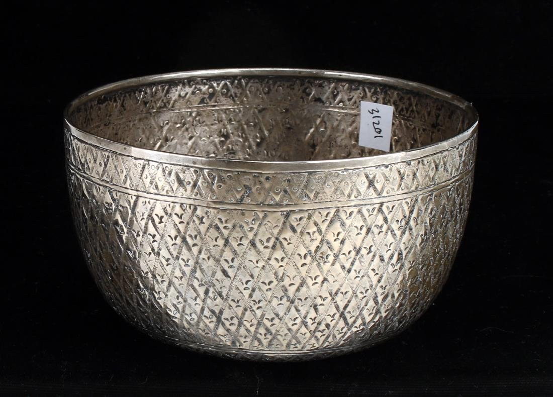CHINESE SILVER BOWL