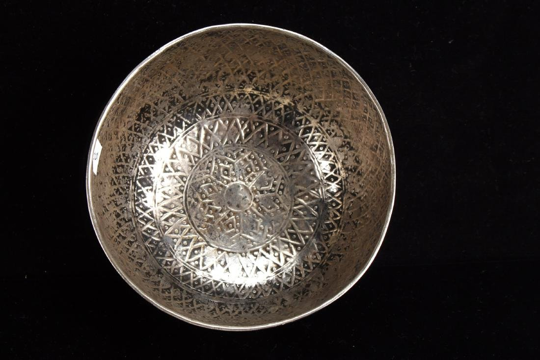 CHINESE SILVER BOWL - 3