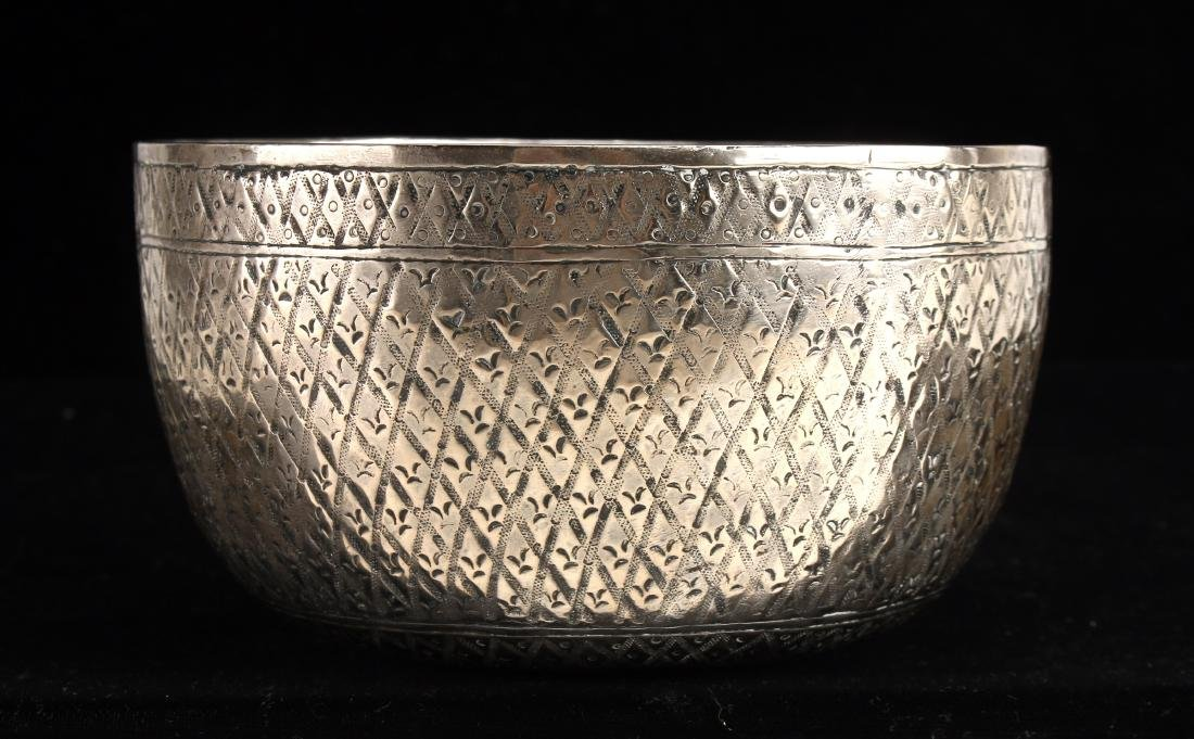 CHINESE SILVER BOWL - 4