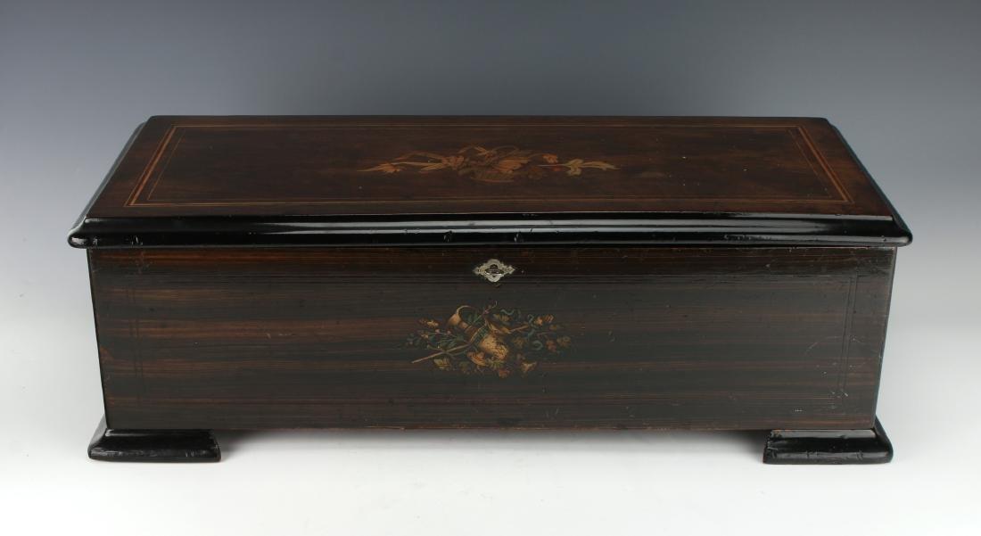 JACOT'S SWISS MUSIC BOX C. 1890