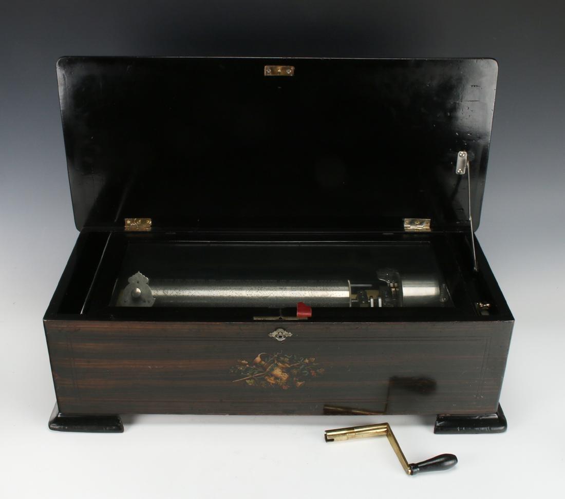 JACOT'S SWISS MUSIC BOX C. 1890 - 3