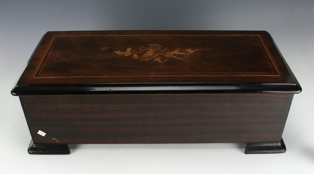JACOT'S SWISS MUSIC BOX C. 1890 - 4