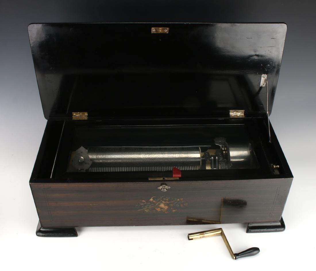 JACOT'S SWISS MUSIC BOX C. 1890 - 8