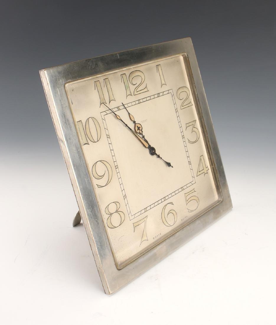 ART DECO SWISS DESK CLOCK TURLER ZURICH - 2