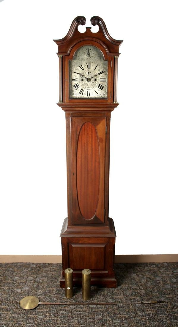 J.E. CALDWELL TALL CASE CLOCK EARLY 20TH C