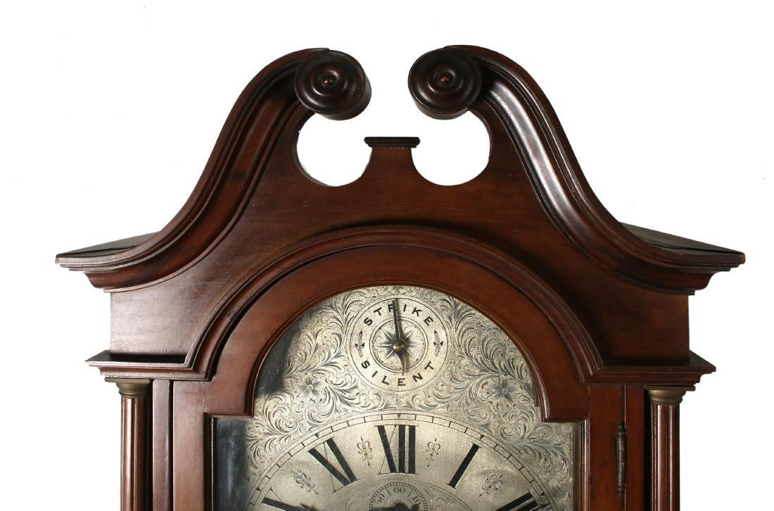 J.E. CALDWELL TALL CASE CLOCK EARLY 20TH C - 3