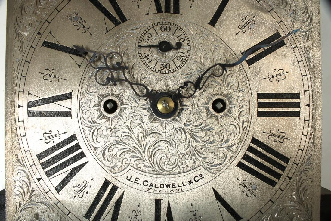 J.E. CALDWELL TALL CASE CLOCK EARLY 20TH C - 4