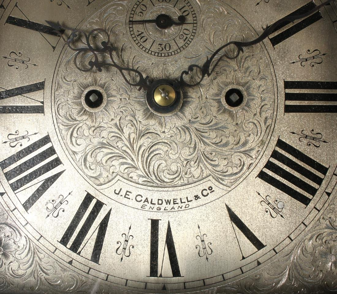 J.E. CALDWELL TALL CASE CLOCK EARLY 20TH C - 5