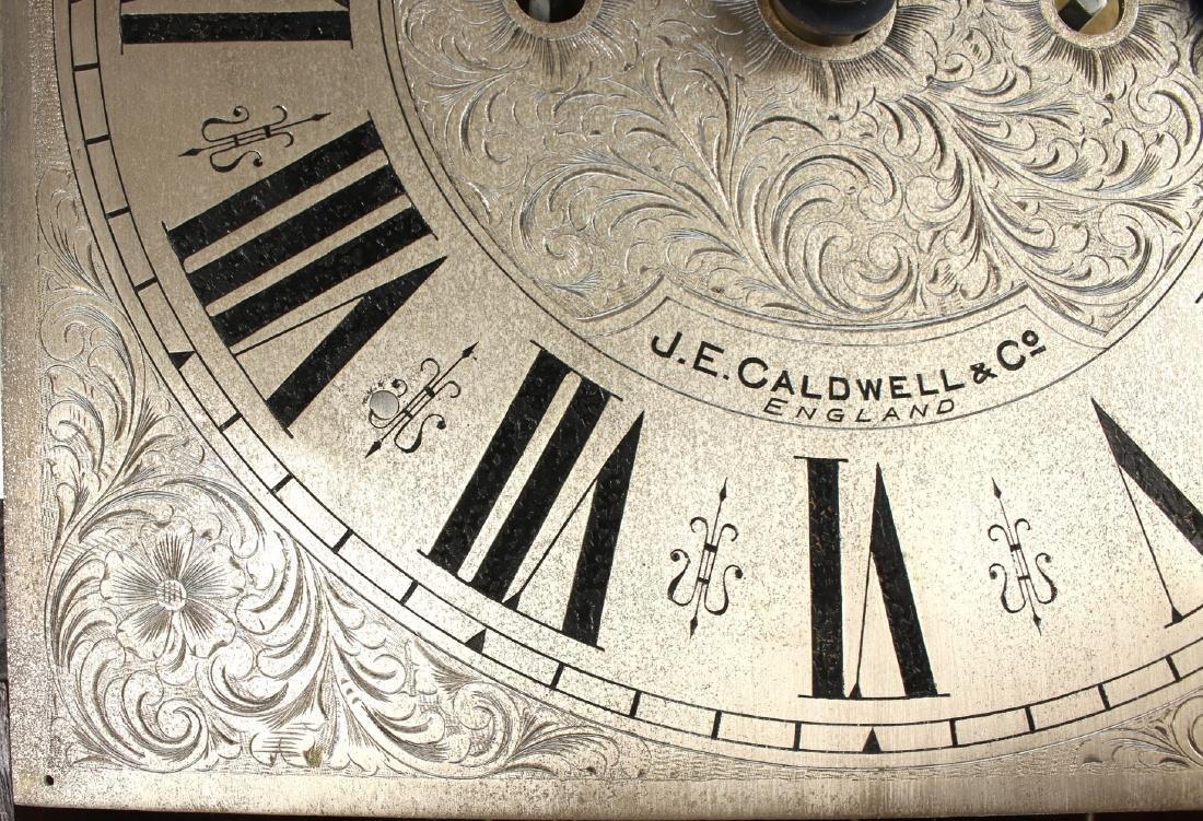 J.E. CALDWELL TALL CASE CLOCK EARLY 20TH C - 6