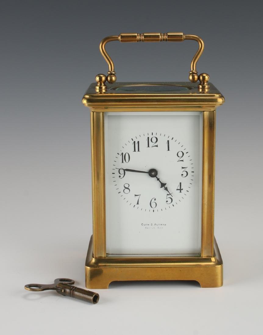 B. ALTMAN CARRIAGE CLOCK
