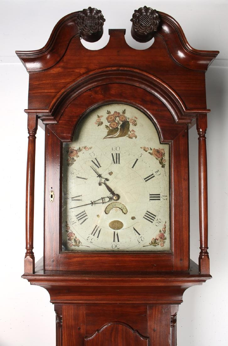 BENJAMIN MORRIS TALL CASE CLOCK