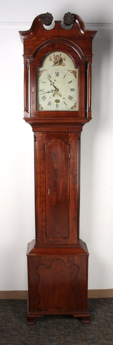 BENJAMIN MORRIS TALL CASE CLOCK - 2