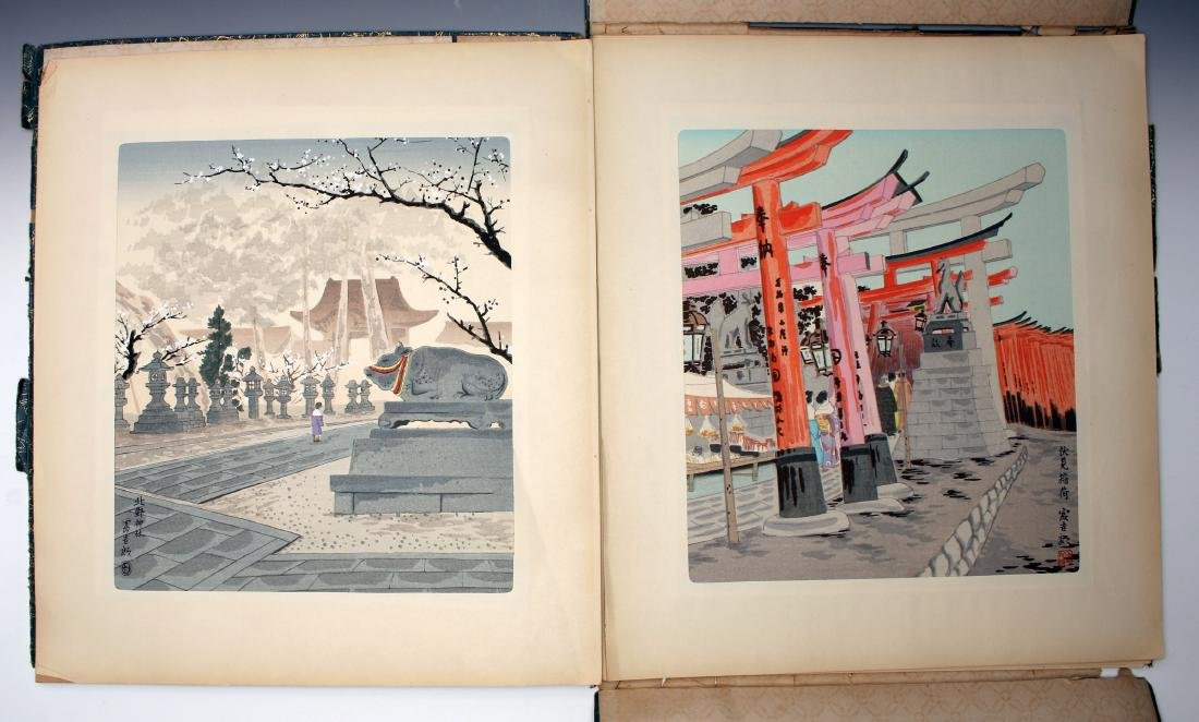12 JAPANESE WOOD BLOCK PRINTS BY TOKIRIKI - 2