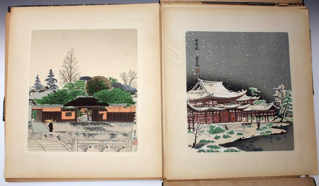 12 JAPANESE WOOD BLOCK PRINTS BY TOKIRIKI - 5