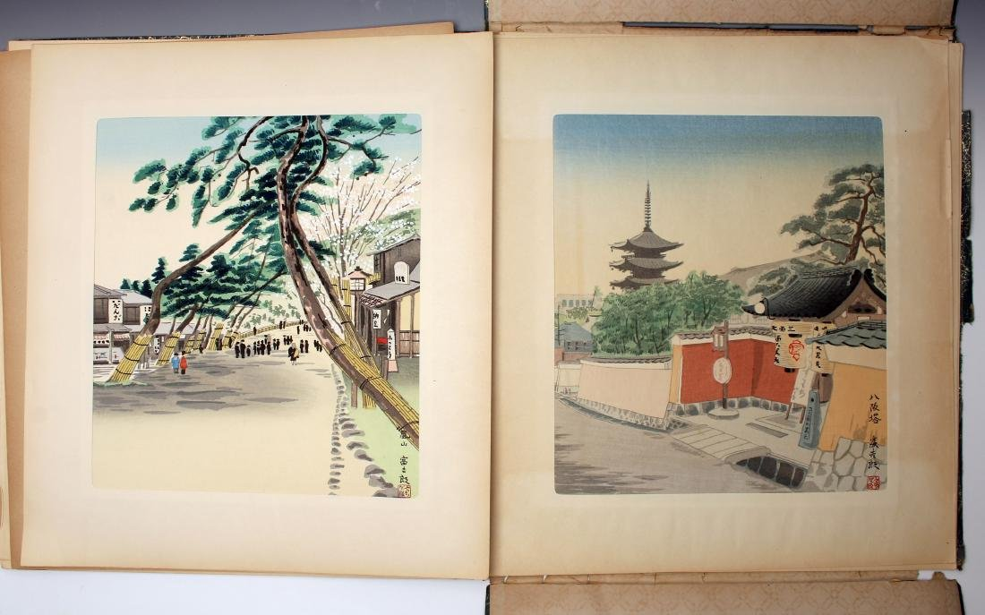 12 JAPANESE WOOD BLOCK PRINTS BY TOKIRIKI - 7
