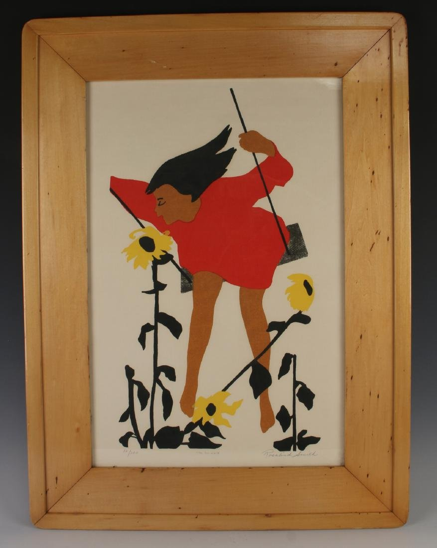 """THE SWINGER"" PRINT ROSALIND SMITH"