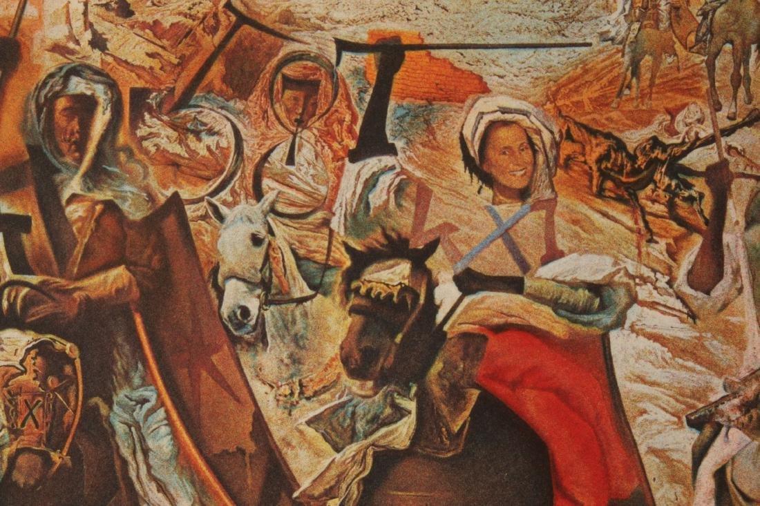 DALI LITHOGRAPH BATTLE OF TETUAN 148/250 SIGNED - 3