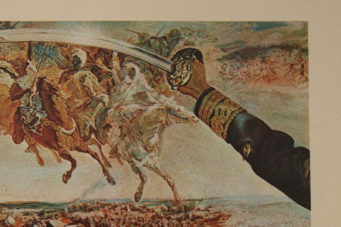 DALI LITHOGRAPH BATTLE OF TETUAN 148/250 SIGNED - 5