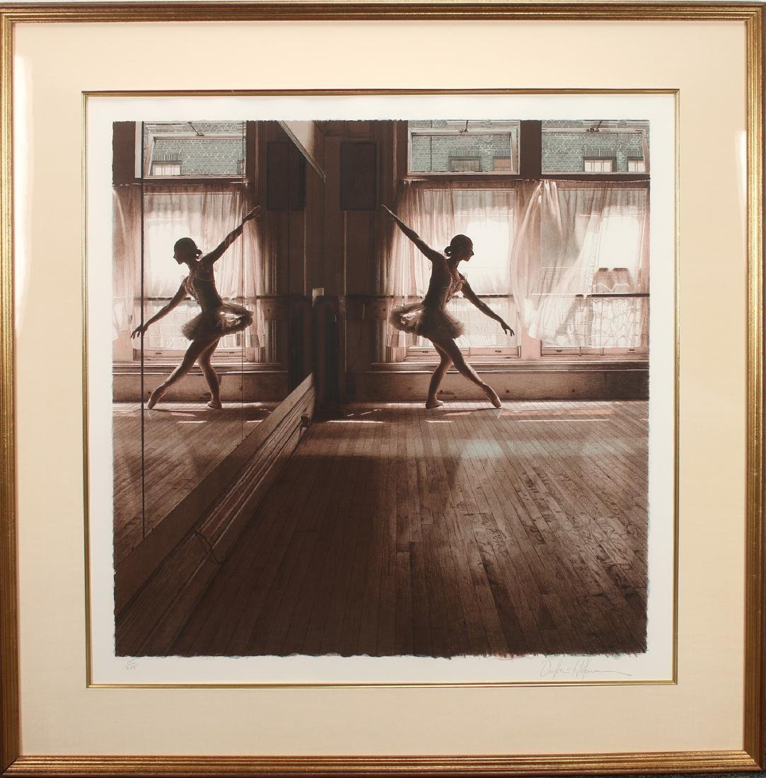 DOUGLAS HOFMANN BALLET LITHOGRAPH