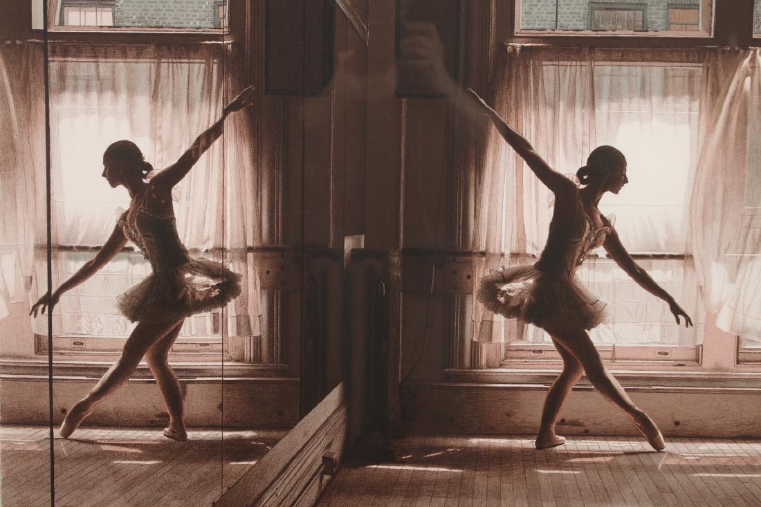 DOUGLAS HOFMANN BALLET LITHOGRAPH - 2
