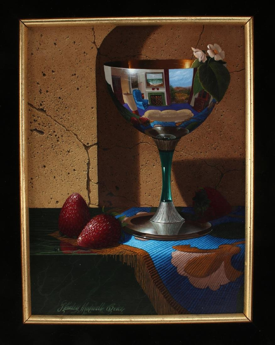 """""""STRAWBERRY SUMMER"""" BY S.M. BRICE PAINTING - 2"""