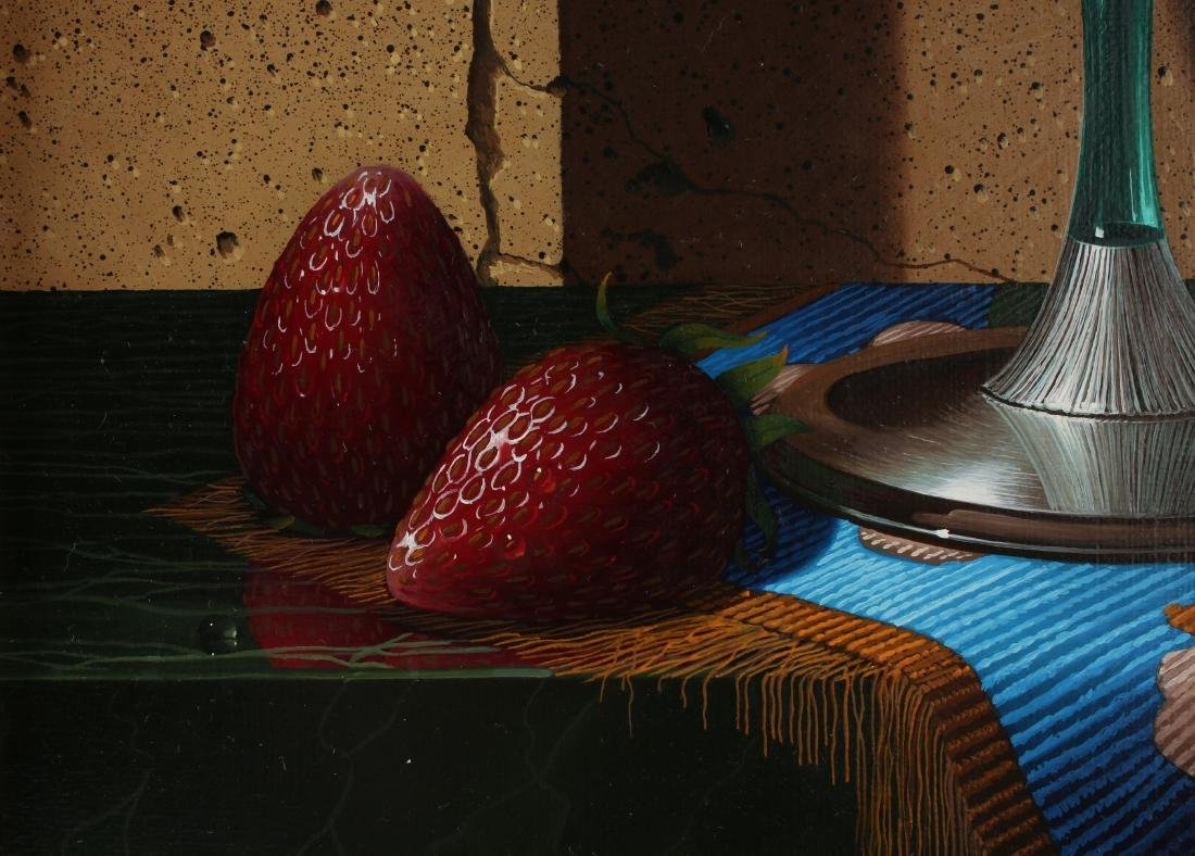 """""""STRAWBERRY SUMMER"""" BY S.M. BRICE PAINTING - 4"""
