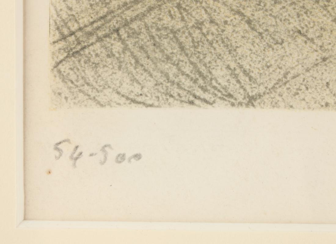 """SIGNED """"DE TOULOUS-LAUTREC"""" NUMBERED PRINT - 4"""