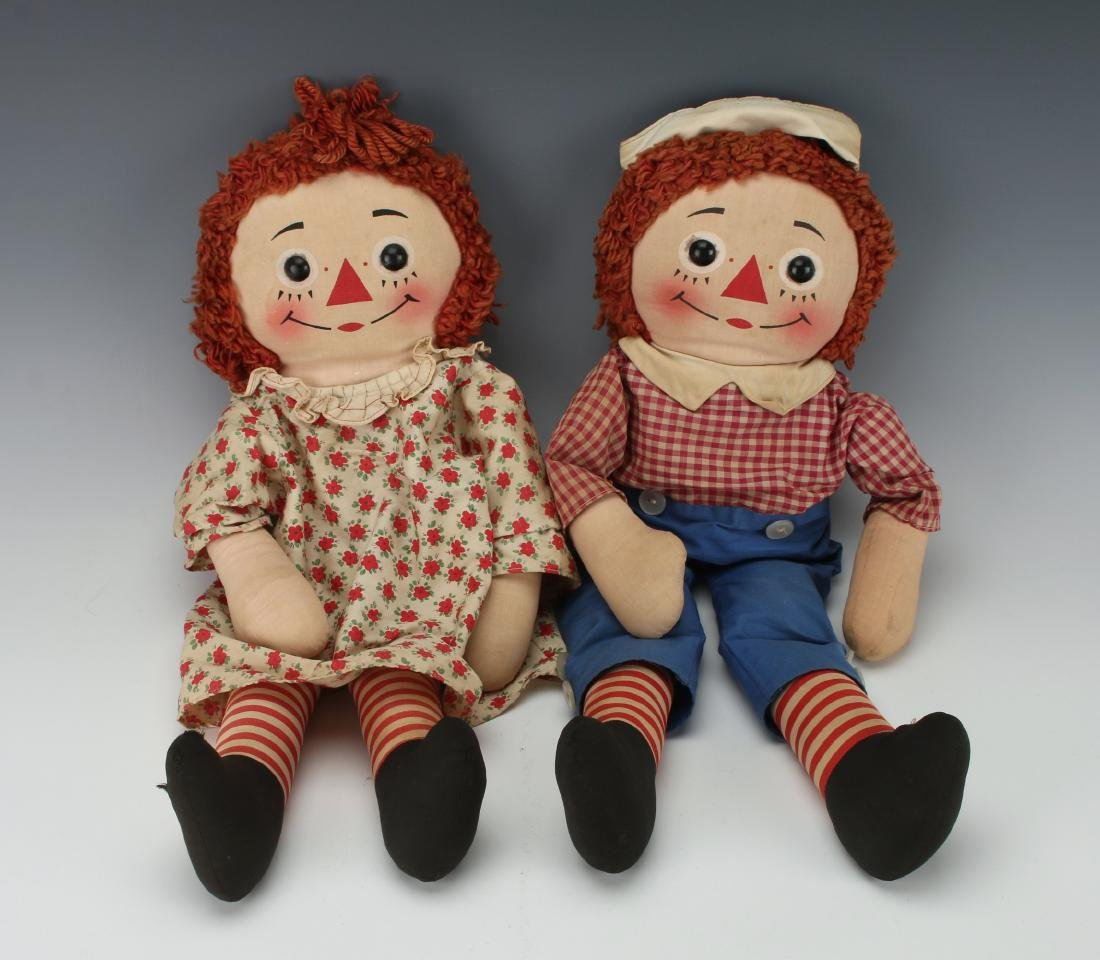 1960S RAGGEDY ANN AND ANDY