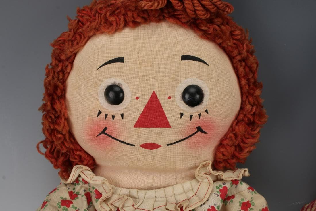 1960S RAGGEDY ANN AND ANDY - 2