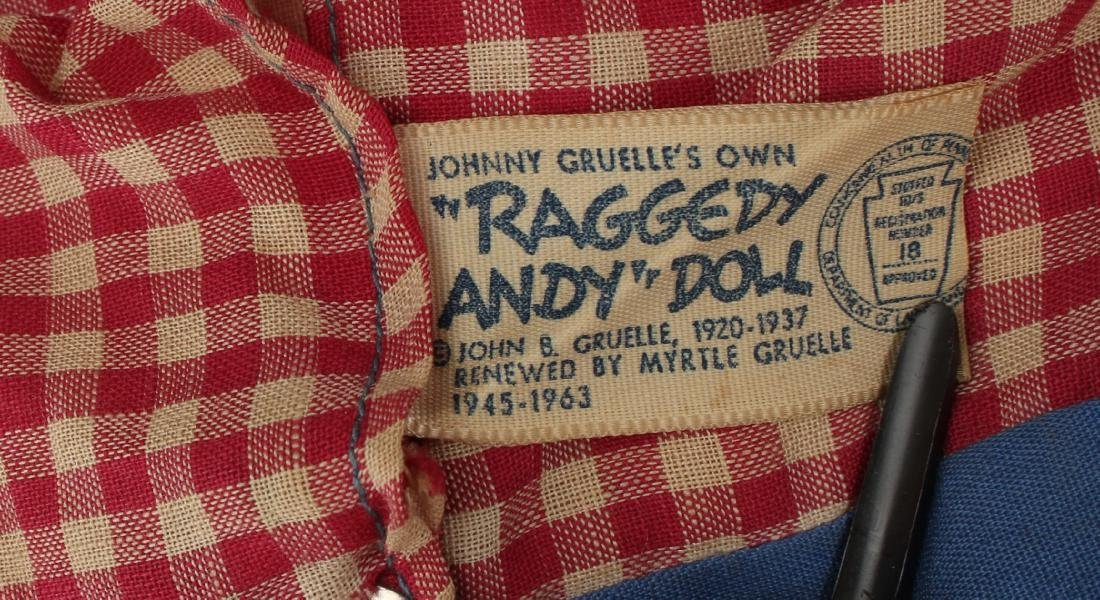 1960S RAGGEDY ANN AND ANDY - 4