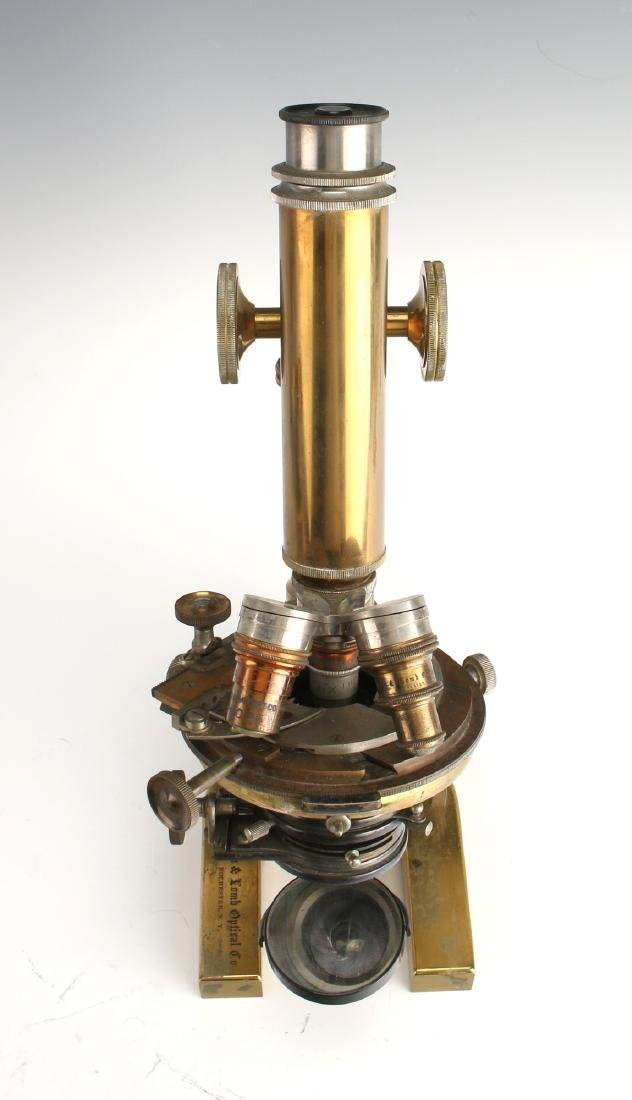 ANTIQUE BAUSCH & LOMB OPTICAL CO. MICROSCOPE 1925 - 4
