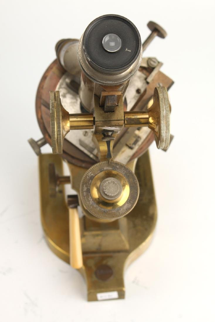 ANTIQUE BAUSCH & LOMB OPTICAL CO. MICROSCOPE 1925 - 6